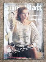 Magazine tricot Anny Blatt 63 - Printemps - été