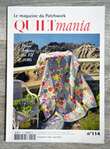 Magazine Quiltmania n°114