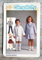 Pochette patron couture Simplicity 6816 - Ensembles enfant