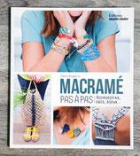 NEUF - Livre Macramé pas à pas - Accessoires, sacs, bijoux