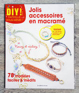 NEUF - Livre et kit DIY - Jolis accessoires en macramé