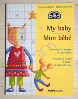Livret DMC Mon bébé - 50 motifs à broder