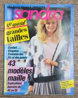 Magazine tricot Sandra HS6 - Spécial grandes tailles
