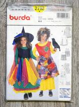 Pochette patron Burda n°2792 - 2 déguisements de sorcière
