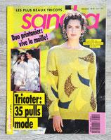 Magazine tricot Sandra n°81 - Avril 1991