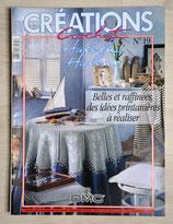 Magazine Créations crochet 19 - Belles et raffinées, des idées printanières à réaliser