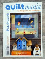 Magazine Quiltmania 60 - Juillet-août 2007