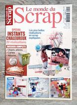 Magazine Le monde du scrap n°14 - Spécial Instants chaleureux