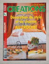 Magazine Créations crochet HS - Décoration de style et de charme au crochet