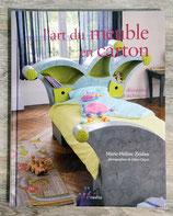 Livre L'art du meuble en carton - Décoration et technique