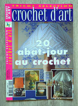 Magazine Crochet d'art - 20 abat-jour au crochet