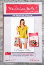Patron Ma couture facile ! n°13 - La tunique Soléna + sac