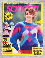 Magazine tricot Sandra n°51 - Octobre 1988