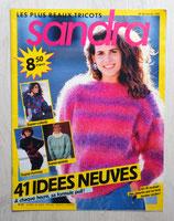 Magazine tricot Sandra 42 - Janvier 1988