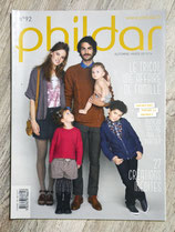 Magazine Phildar n°92 - Mode famille - Automne-hiver 13-14