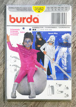 Pochette patron Burda n°3582 - 2 déguisements enfants