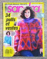 Magazine tricot Sandra 63 - Octobre 1989