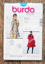 Pochette patron Burda 7587 - Manteau femme