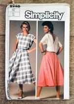 Pochette patron couture Simplicity 6946 - Haut et jupe