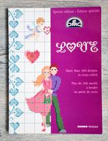 Livret DMC - Love - 300 motifs à broder