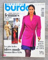 Magazine Burda spécial petites tailles - Automne-hiver 95-96