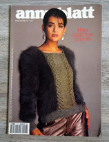 Magazine Tricot Anny Blatt n°127 - Hiver
