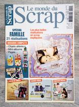 Magazine Le monde du scrap n°15 - Spécial Famille