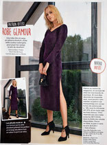 Patron de couture Modes & Travaux - Robe glamour