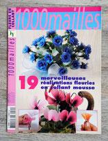 Magazine 1000 mailles - Fleurs en collant