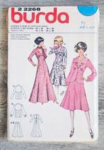 Pochette patron Burda n°22268 - Tailleur jupe ou robe