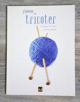 Livre J'aime tricoter - 25 coups de coeur