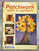 Magazine Burda patchwork et appliqués n°15 - Automne