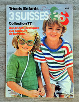 Magazine tricot 3 Suisses Enfants - Collection 77 (Vintage)