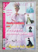 Magazine Haute couture pour poupées mannequin