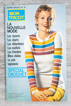 Magazine Mon tricot - Série mode n°6 - Spécial crochet
