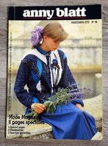 Magazine tricot Anny Blatt 96 - Printemps-été
