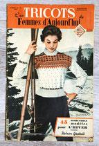 Magazine Les tricots de Femmes d'aujourd'hui n°75 (Vintage)