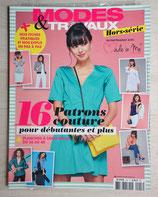 Magazine Modes et Travaux hors série couture