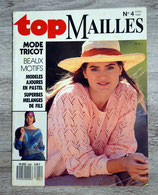 Magazine Top Mailles n°4 - Avril 1989 (Tricot)