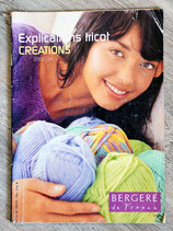 Magazine Explication tricot Bergère de France 2003-2004