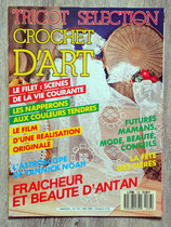 Magazine Tricot sélection - Crochet d'art - n°137