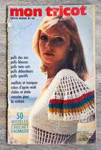 Magazine Mon tricot - Série Mode n°10 (Vintage)