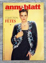Magazine tricot Anny Blatt n°130 - Collection fêtes