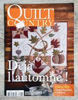 Magazine Quilt Country n°27 - Déjà l'automne !