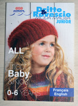 Magazine tricot Adriafil enfants