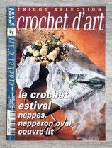 Magazine Tricot sélection - Crochet d'art n°283 - juillet 01