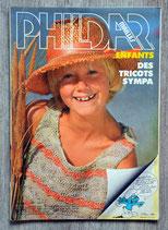 Magazine Phildar mailles enfants 105 - Eté (Vintage)