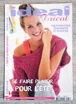 Magazine Idéal tricot n°66 - Se faire plaisir pour l'été