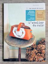 Livre L'atelier du cuir - 23 sacs, pochettes et accessoires