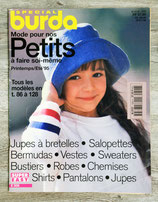 Magazine Burda enfants printemps-été 95 - E306